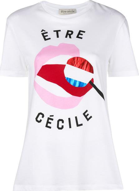 Etre Cecile Graphic logo T-shirt
