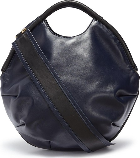 A-Esque 'Petal Pure' colourblock leather bag