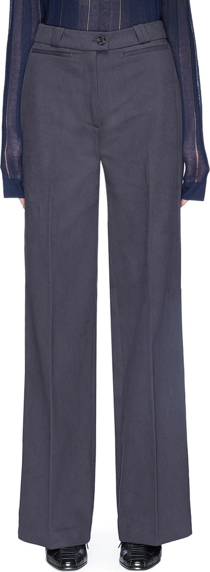 Acne Studios 'Tiffan' wide leg twill pants