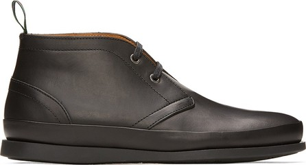 Ps By Paul Smith Black Cleon Desert Boots