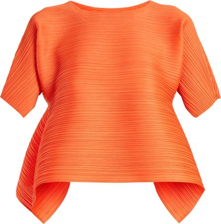 Pleats Please By Issey Miyake Poyon Poyon pleated top