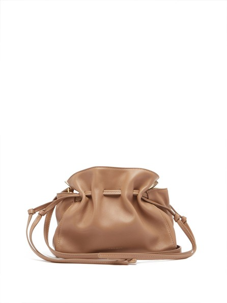 Mansur Gavriel Mini Protea leather cross-body bag
