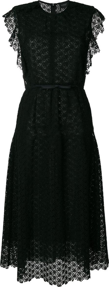 Giambattista Valli Belted lace midi dress
