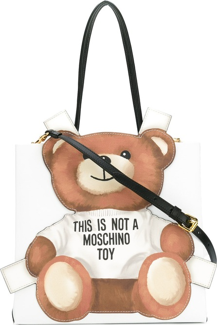 Moschino toy bear paper cut out toote