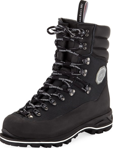 Stefano Ricci Men's Leather Mountain Boots