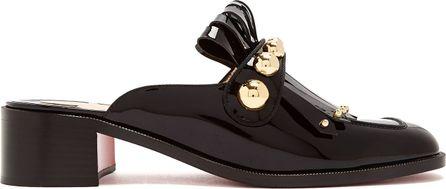 Christian Louboutin Octavian 35mm patent-leather mules