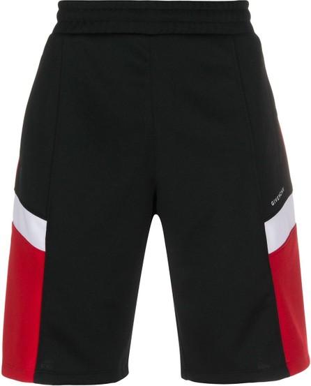 Givenchy Three-toned track shorts