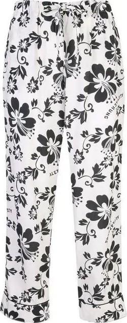 Alexachung floral print trousers