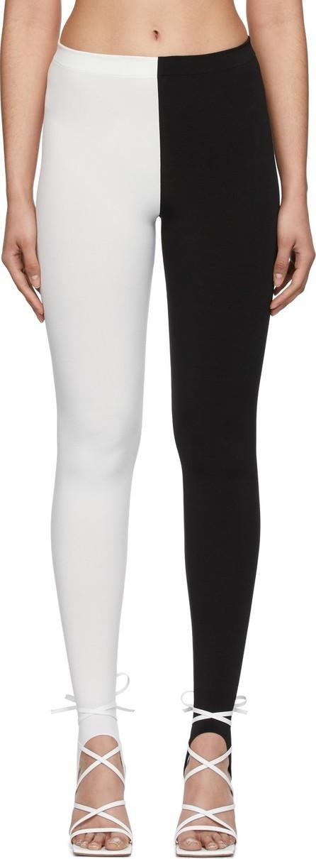 A.W.A.K.E Black & White Sling Leggings