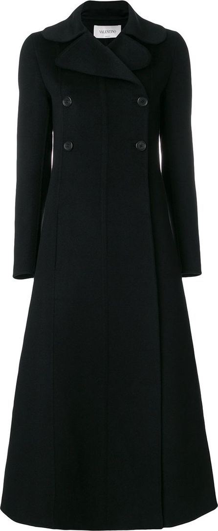 Valentino long double breasted coat