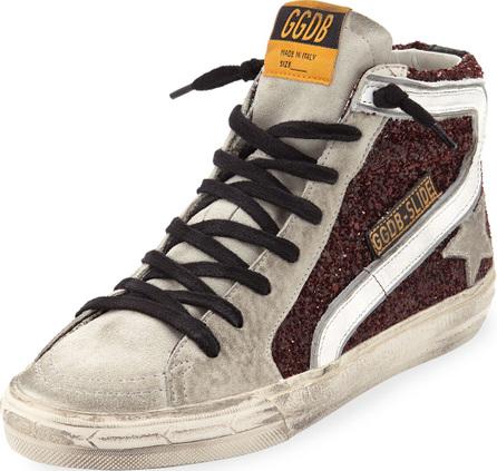 Golden Goose Deluxe Brand Mixed High-Top Sneakers