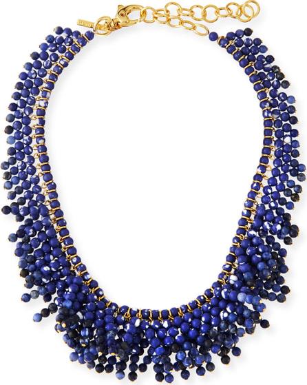 Lele Sadoughi Shaggy Stone Necklace
