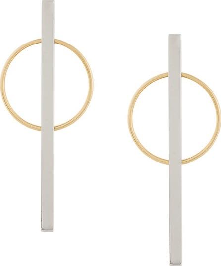 Eshvi circle earrings