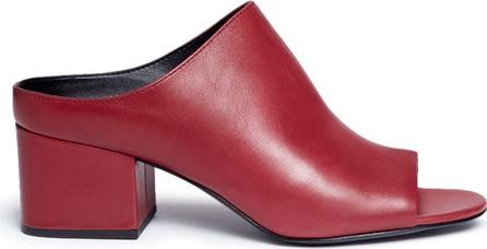 3.1 Phillip Lim 'Cube' leather mules