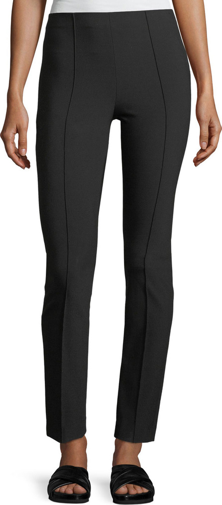 Vince High-Rise Stitch-Front Leggings