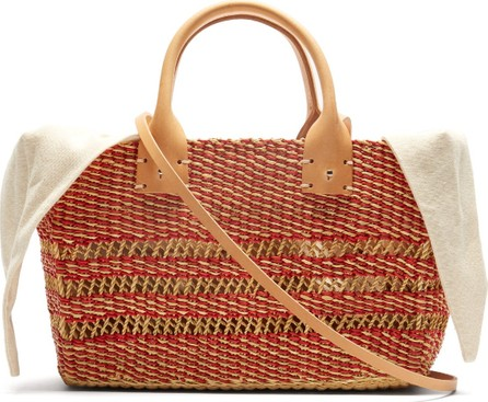 Muun Carrie woven-straw basket bag