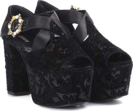 Erdem Phillipa platform sandals