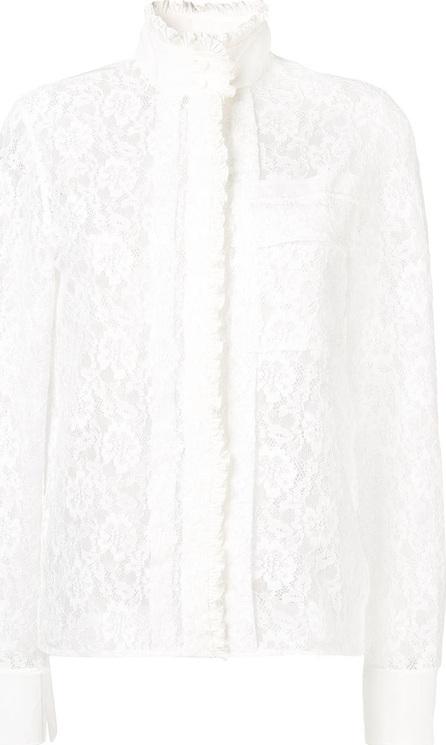 Chloe Floral lace blouse