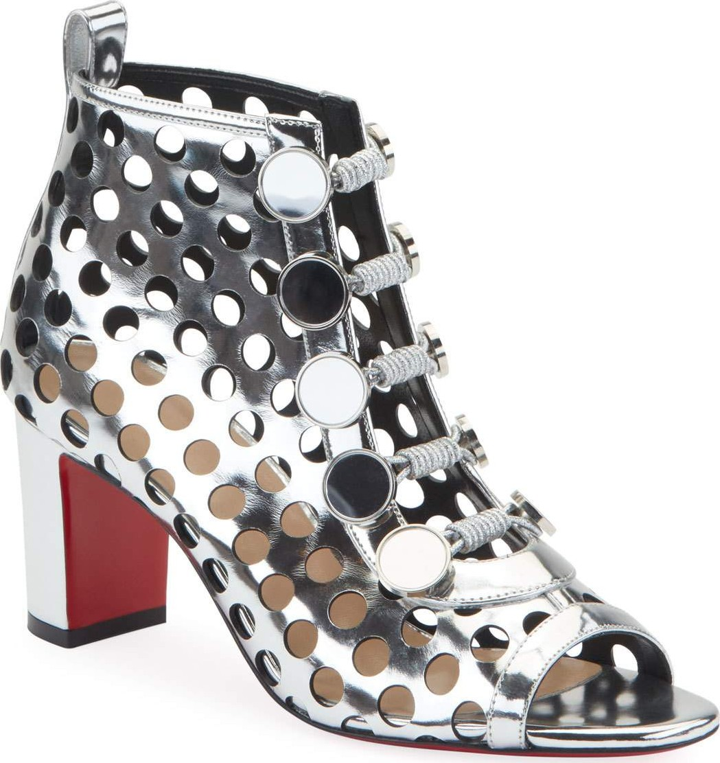 premium selection 93cc3 e15af Christian Louboutin Planeta Boot 70 Red Sole Booties - Mkt