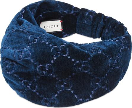 Gucci GG Velvet Turban Headband