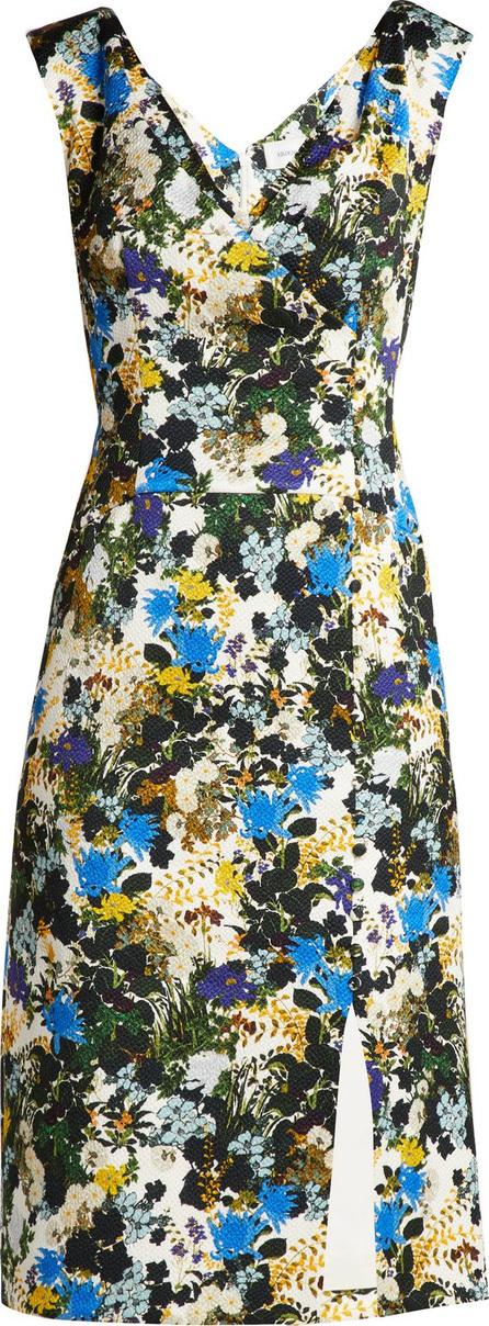 Erdem Jyoti meadow jacquard dress