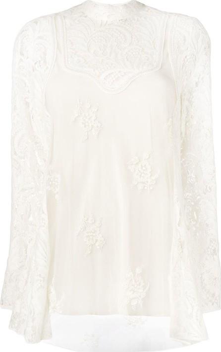 Stella McCartney Floral lace blouse