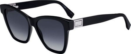 Fendi Acetate Gradient Square Sunglasses