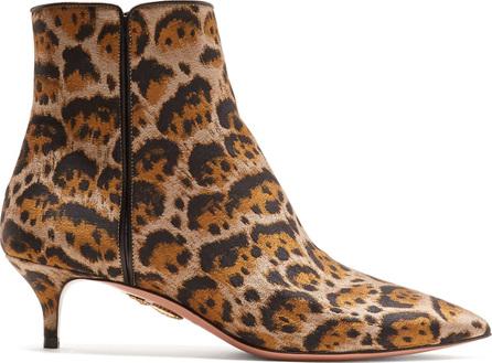 Quant 45 leopard-print ankle boots