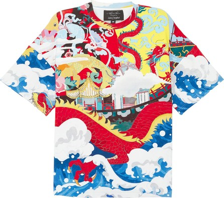 Angel Chen Dragon Junk graphic print unisex T-shirt