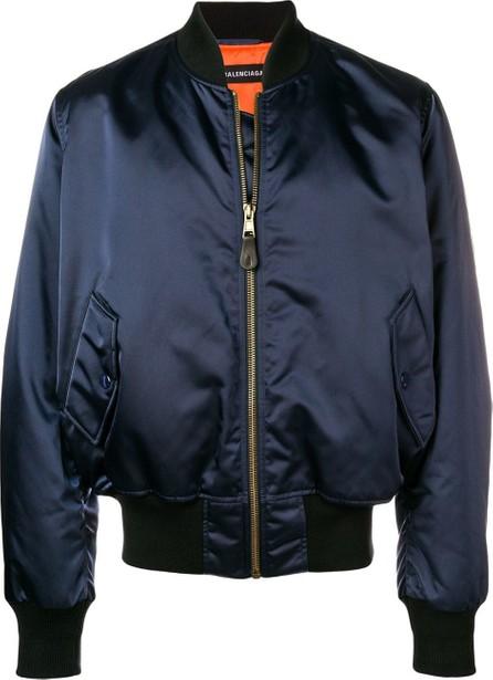 Balenciaga Archetype embroidered bomber jacket