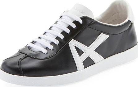 Aquazzura The A Two-Tone Leather Sneakers