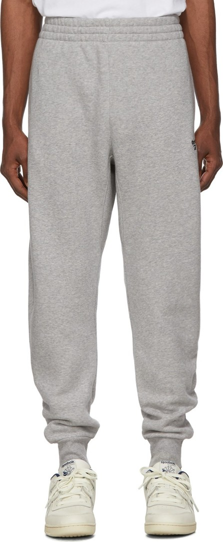 Reebok Grey Fleece Classic Lounge Pants