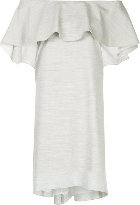 Comme Moi Off the shoulder ruffled dress