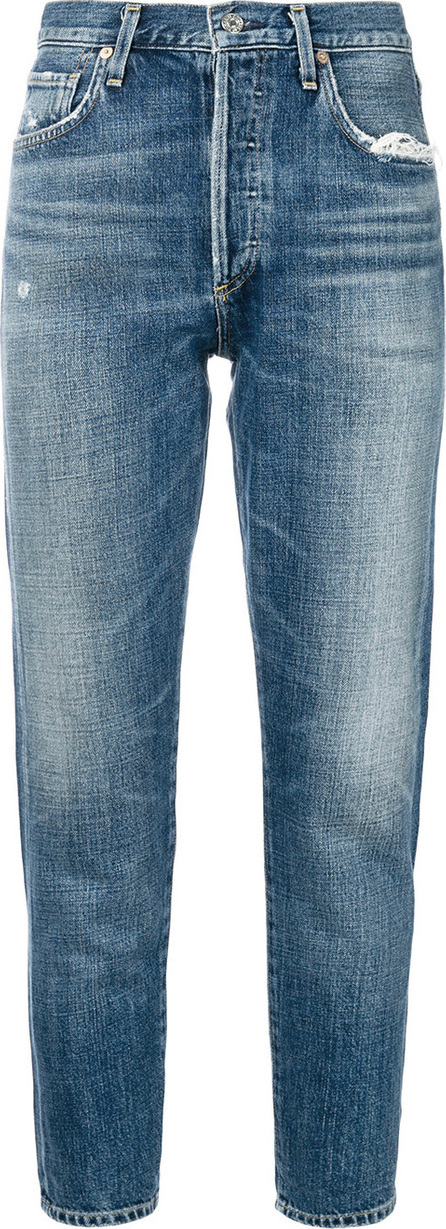 Liya cropped tapered jeans