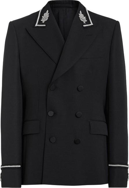 Burberry London England Filigree-embellished double-breasted jacket