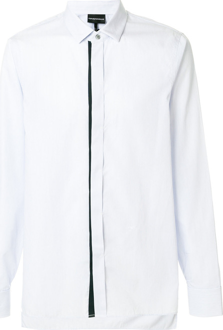 Emporio Armani Concealed fastening longsleeved shirt