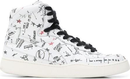 Diadora Heritage By The Editor Basket Biro hi-top sneakers