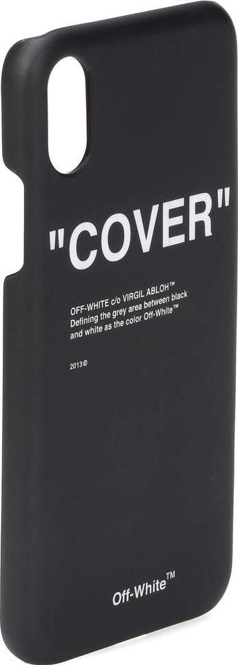 Off White iPhone X plastic case