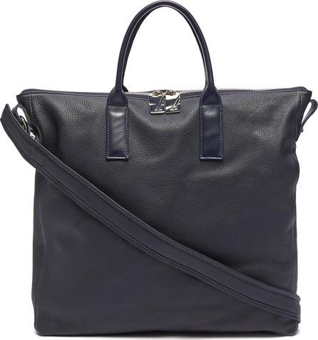 A-Esque 'Portfolio' grainy leather tote bag