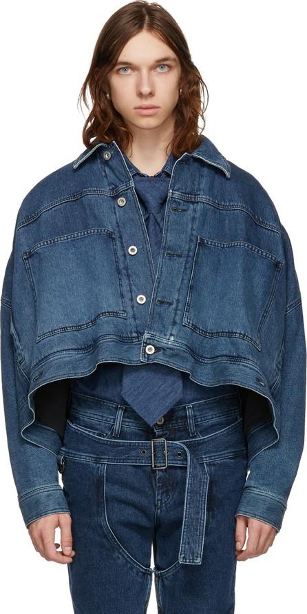 Diesel Red Tag Blue Shayne Oliver Edition Oversized SOJK02 Jacket