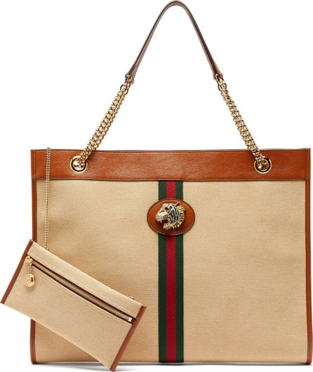 446a33ea3a18ea Gucci Techpack Floral-Print Vinyl Tote Bag - Mkt