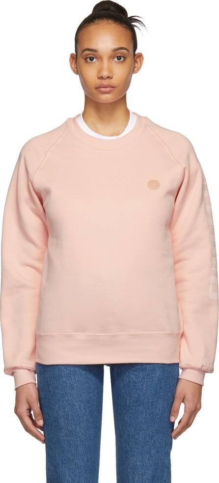 Acne Studios Pink Blå Konst Finnegan Sweatshirt