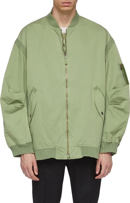 Faith Connexion Camouflage print reversible bomber jacket