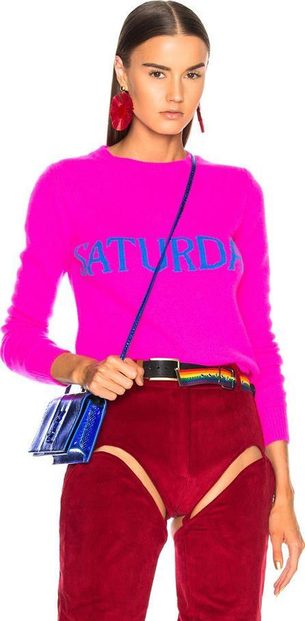 Alberta Ferretti Saturday Crewneck Sweater