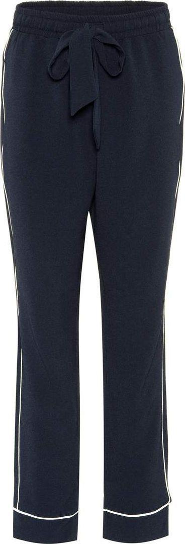 Ganni Clark crêpe trousers