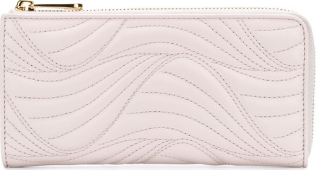 Salvatore Ferragamo Stitched wave wallet