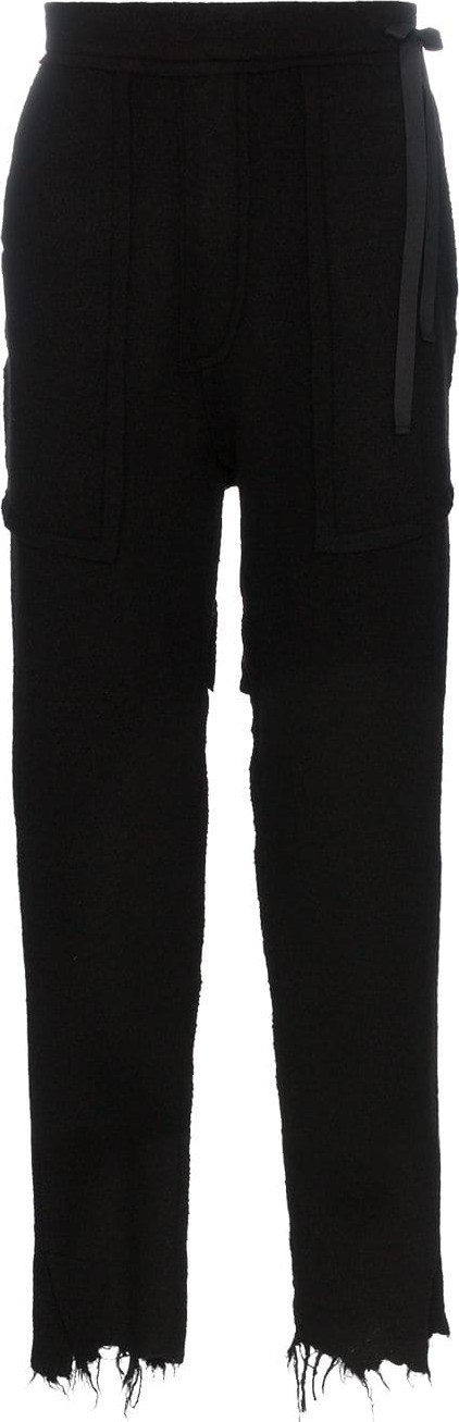 BED J.W. FORD Slip boiled wool trousers