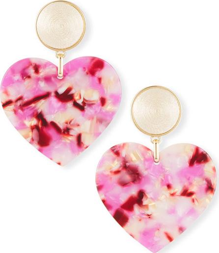 BAUBLEBAR Gigi Heart Drop Earrings