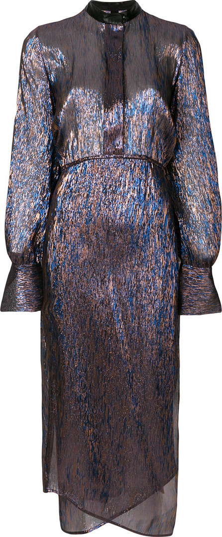 Petar Petrov Delta metallic dress