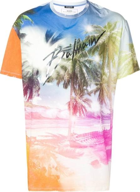 Balmain Beach printed t-shirt